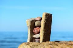 Стог камней Стоковое Изображение