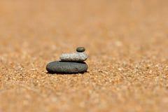 стог камушков Стоковые Изображения RF