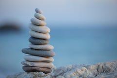 стог камушков Стоковая Фотография