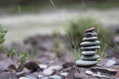 Стог камушков Стоковое фото RF