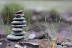Стог камушков Стоковое Фото