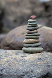 Стог камушков Стоковое Изображение RF