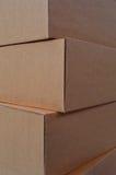 Стог картонной коробки Стоковое фото RF