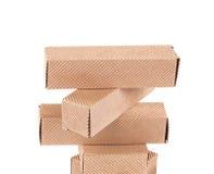 Стог картонных коробок Стоковое Фото