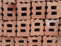 Стог кирпичей красной глины Стоковое Изображение RF