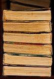 стог книги старый Стоковое Фото