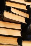 стог книги старый Стоковая Фотография