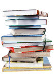 стог книги стоковые фотографии rf