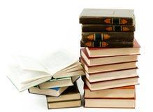 стог книг высокий Стоковое Изображение RF
