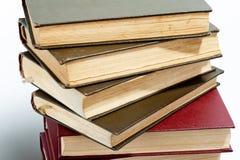 стог книг высокий Стоковое фото RF