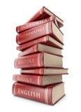 Стог книг. Образование. икона 3D   иллюстрация вектора