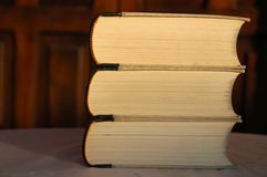 стог книг Стоковое Изображение