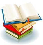 стог книг иллюстрация вектора