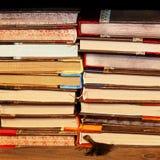 стог книг Стоковые Изображения