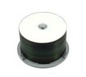 стог компактного диска s Стоковые Изображения RF