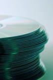 стог компактного диска s Стоковая Фотография