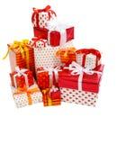 Стог коробок подарка Стоковые Фото