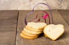 Стог коротких печений хлеба Стоковое Изображение