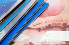 Стог кредитных карточек Стоковая Фотография