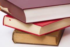 стог крупного плана книг стоковое фото