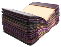 Стог крышек для пасспортов Стоковое фото RF