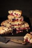 Стог кусков пирога плодоовощ Стоковые Фото