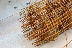 Стог металла ржавого Стоковые Фото