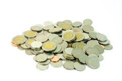 Стог монетки Стоковое фото RF
