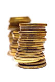 Стог монетки Стоковая Фотография