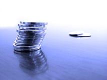 стог монеток стоковое фото rf