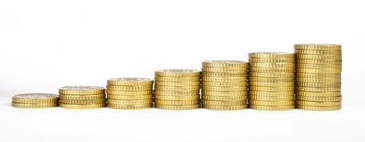 Стог монеток Стоковые Фото