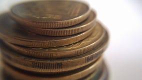 Стог монеток Стоковое Изображение