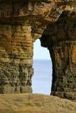 Стог моря на пляже Стоковая Фотография