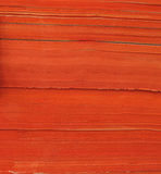 Стог оранжевой бумаги Стоковые Фотографии RF