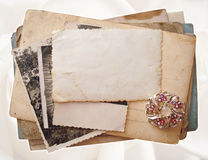стог открыток фото Стоковое Изображение RF
