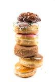 Стог очень вкусных donuts Стоковые Изображения RF