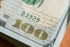 Стог доллара Стоковая Фотография