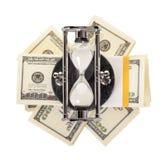 Стог долларов Стоковое Изображение RF