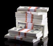 Стог долларов Стоковое Фото