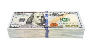 Стог долларов Стоковая Фотография