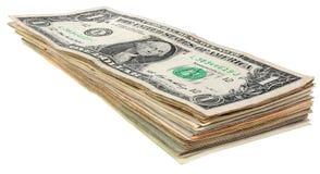 Стог долларов banknotes_1 Стоковые Фото