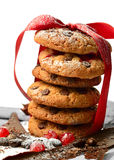 Стог печенья рождества Стоковые Фото