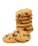 стог печенья шоколада обломока Стоковое фото RF