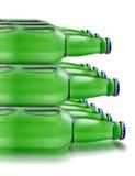 Стог пива бутылок Стоковые Фотографии RF