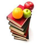 стог плодоовощей книги стоковые фотографии rf