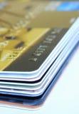 стог подарка кредита карточек Стоковые Фото