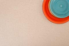 стог покрашенных плит Стоковые Фотографии RF