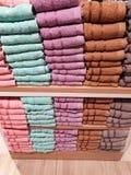 Стог полотенец стоковое изображение rf