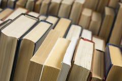 Стог предпосылки книг много куч книг Стоковые Фото