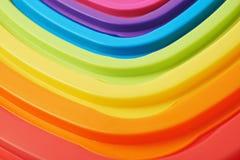 Стог пластичных крышек Стоковые Фото